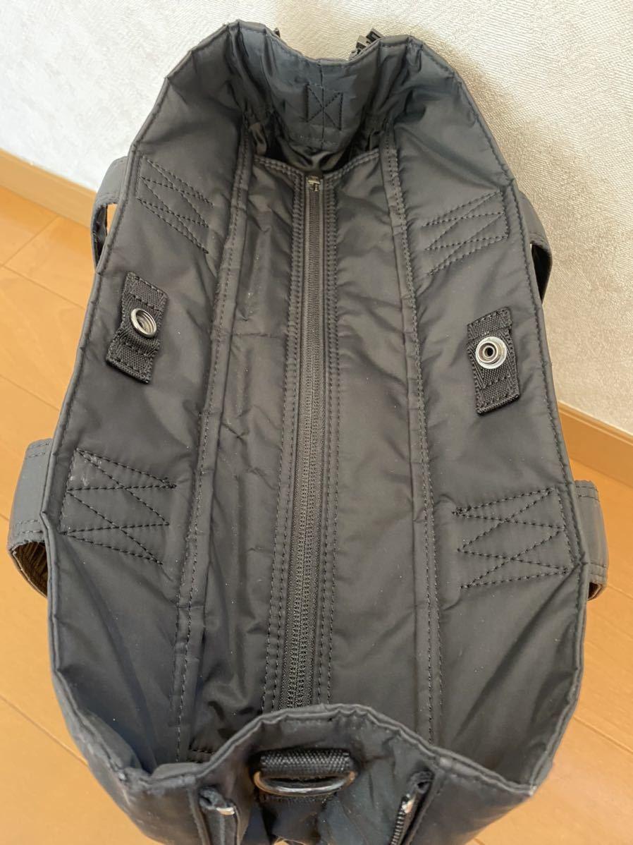 吉田カバン PORTER トートバッグ トライブ 2WAY ショルダーバッグ ブラック 品番383ー16800-10_画像6