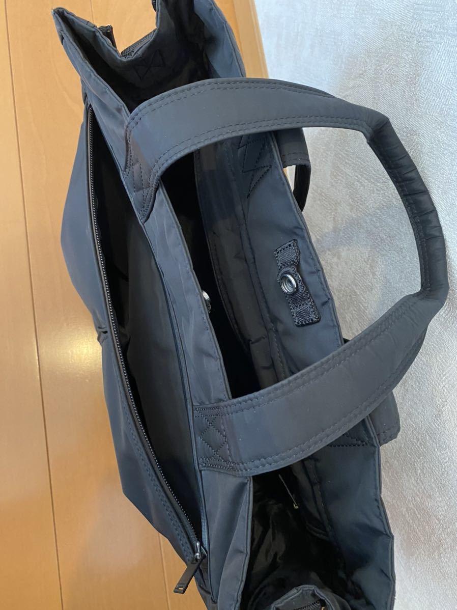 吉田カバン PORTER トートバッグ トライブ 2WAY ショルダーバッグ ブラック 品番383ー16800-10_画像9