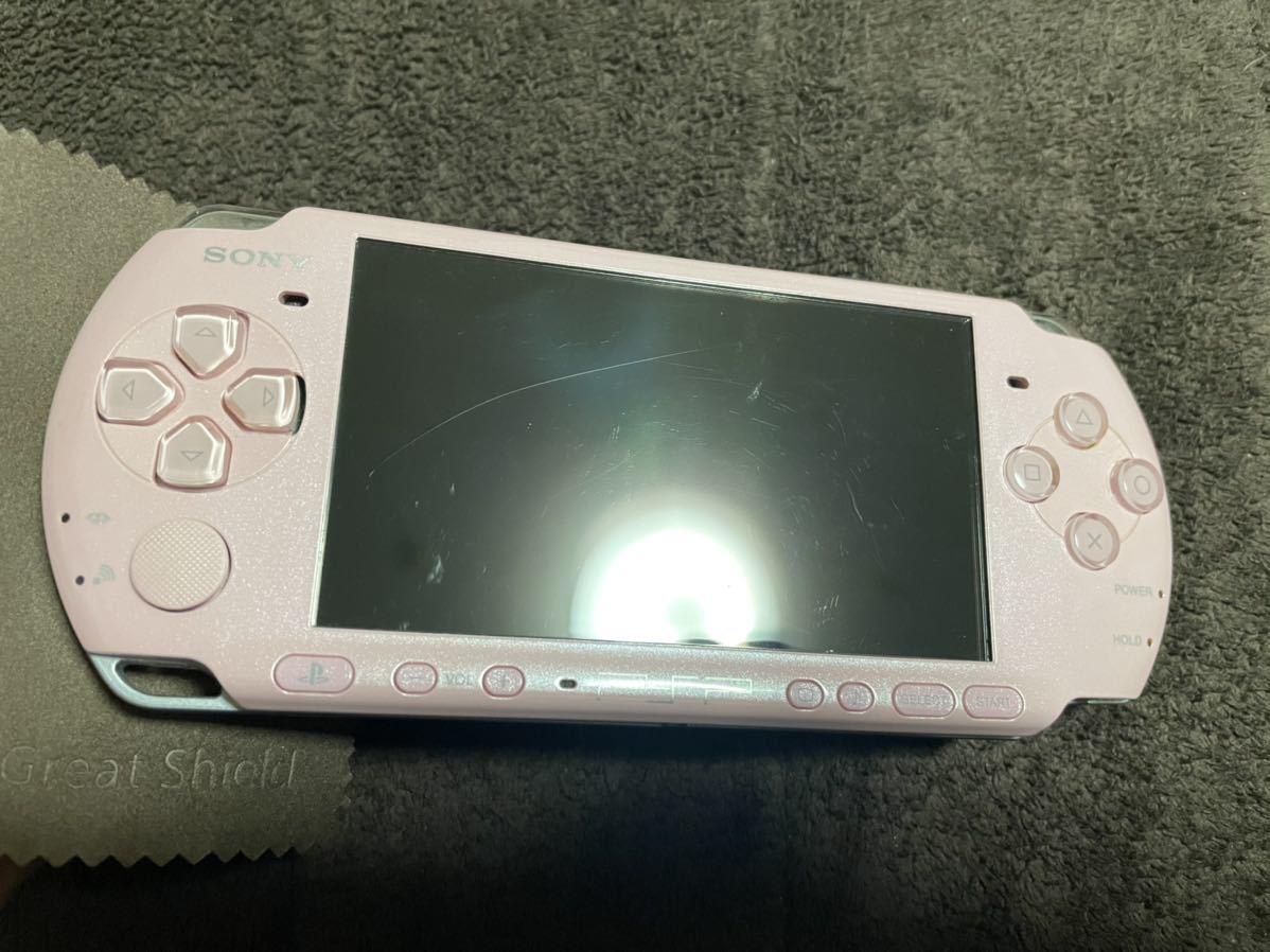 PSP-3000 ピンク 比較的良品 1