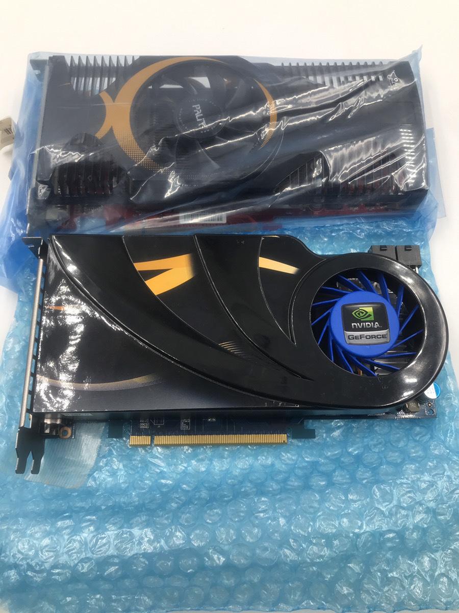 GF-GTS250 PCI-E 512MB DDR3 256bit 2個セット №240001107376/240001107375_画像1