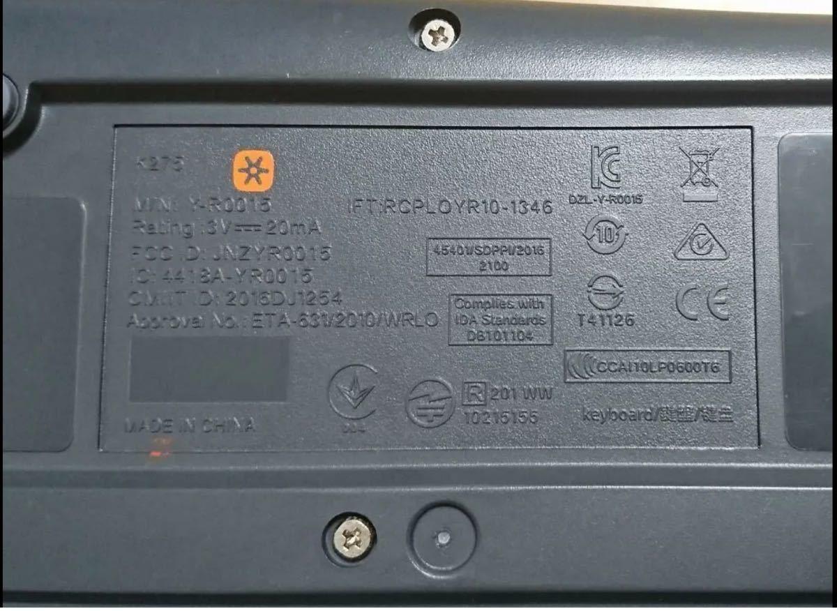 キーボード ロジクール 無線 ワイヤレス K275 ワイヤレスキーボード