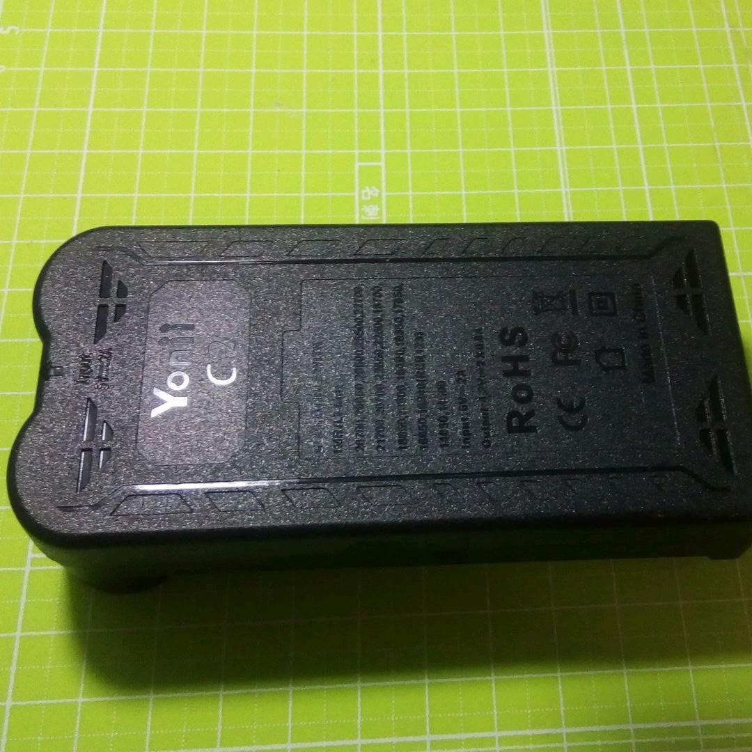2スロットタイプ USB接続式 リチウムイオン電池専用充電器 マルチ保護システム 低電圧活性化機能 _画像3