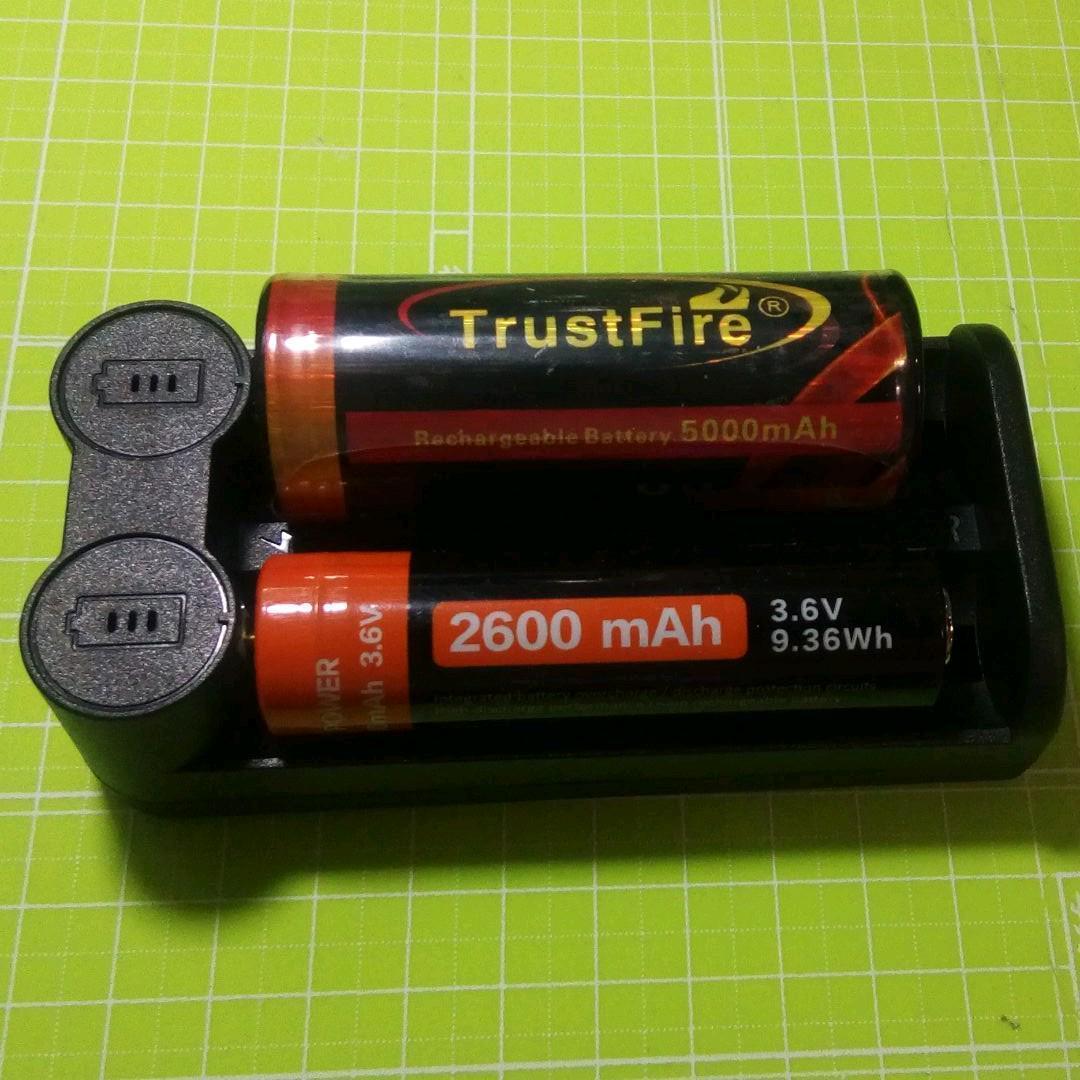 2スロットタイプ USB接続式 リチウムイオン電池専用充電器 マルチ保護システム 低電圧活性化機能 _画像4