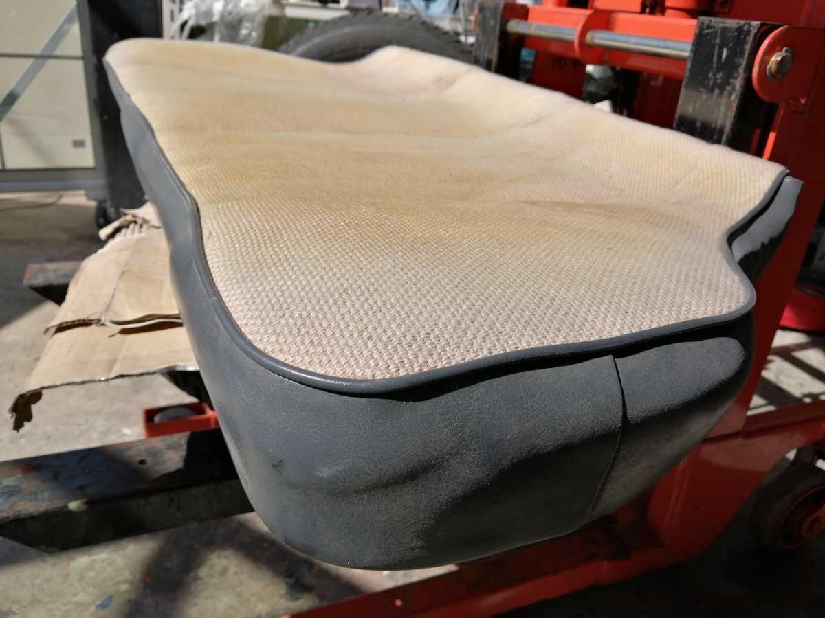 アウトビアンキ AUTO Bianchi アバルト ジュニア用 リアシート座面 ファブリックシート 貴重 イタリアから取寄せた中古品_画像5