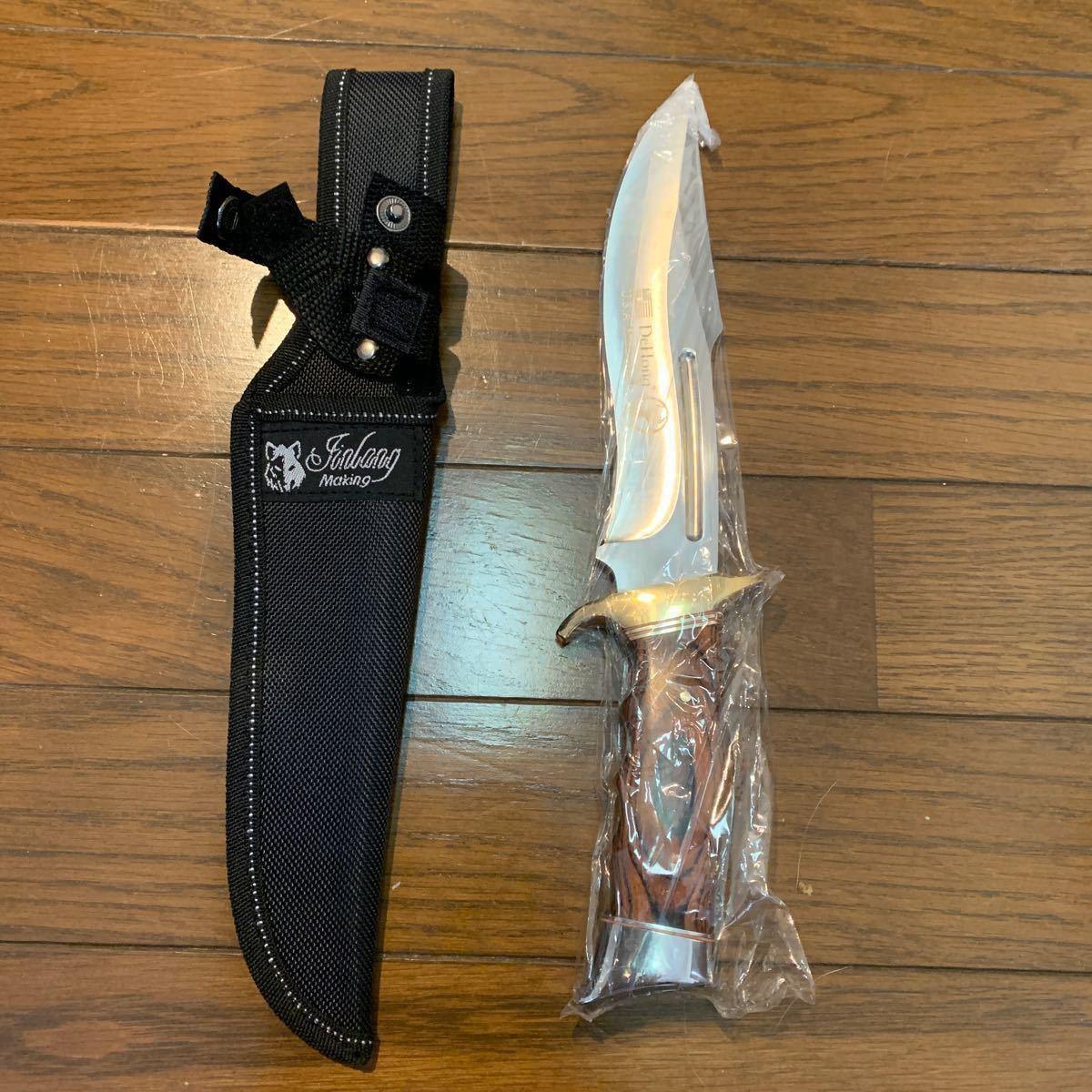 サバイバルナイフ 美術品 未開封
