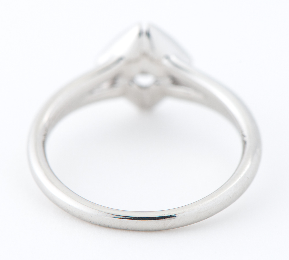 フォーエバーマーク エターナル ソリティア ダイヤモンド0.19ct ダイヤモンド 計0.03ct プラチナ900 9号 リング・指輪【中古】_画像4