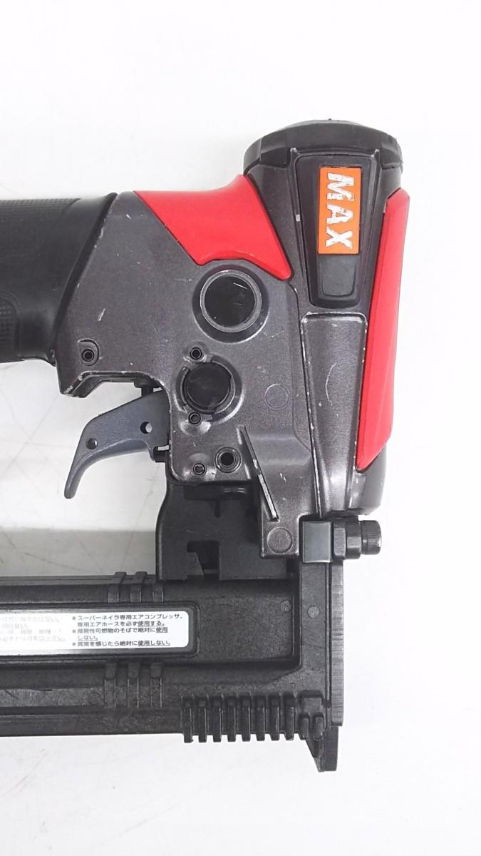 【中古品】MAX 釘打機高圧ステープル用 エアネイラ HA-25/4J  ITNGN5NF9A9W_画像3