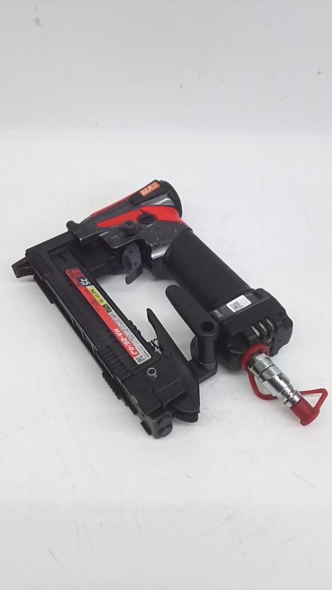 【中古品】MAX 釘打機高圧ステープル用 エアネイラ HA-25/4J  ITNGN5NF9A9W_画像9