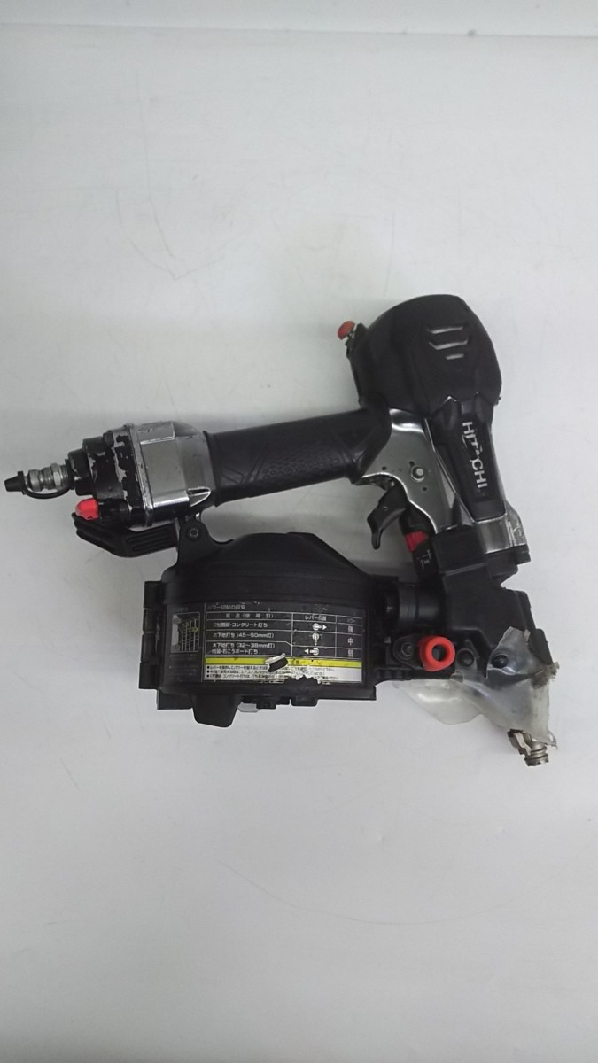 【中古品】HiKOKI(ハイコーキ) 旧日立工機 50mm高圧ロール釘打機 NV50HR(SGK)  ITJIK55EDMFG_画像3