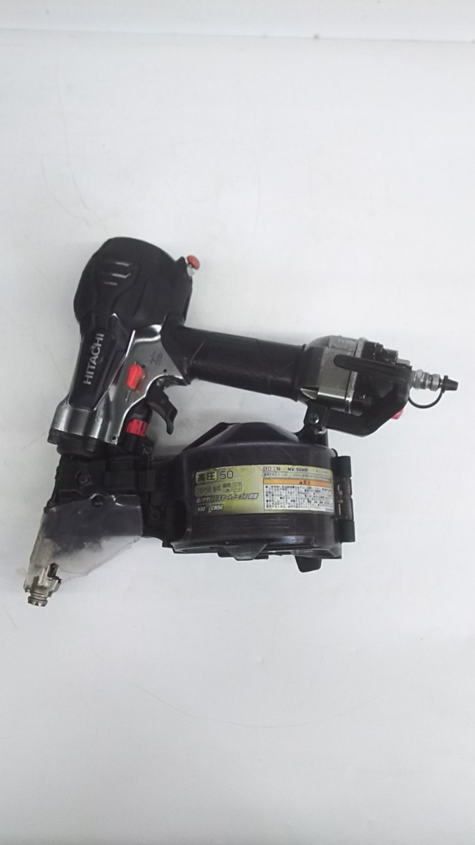 【中古品】HiKOKI(ハイコーキ) 旧日立工機 50mm高圧ロール釘打機 NV50HR(SGK)  ITJIK55EDMFG_画像2