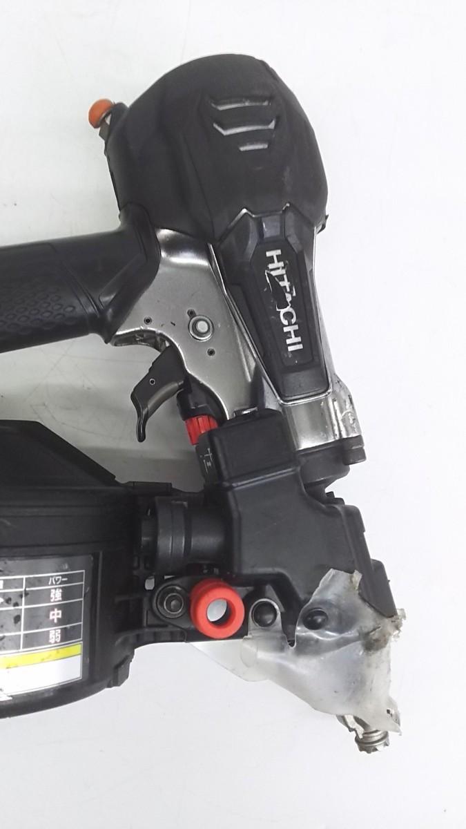 【中古品】HiKOKI(ハイコーキ) 旧日立工機 50mm高圧ロール釘打機 NV50HR(SGK)  ITJIK55EDMFG_画像4