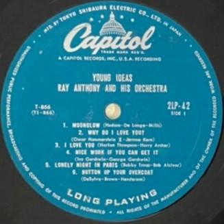 ♪試聴♪Ray Anthony And His Orchestra / Young Ideas_画像4