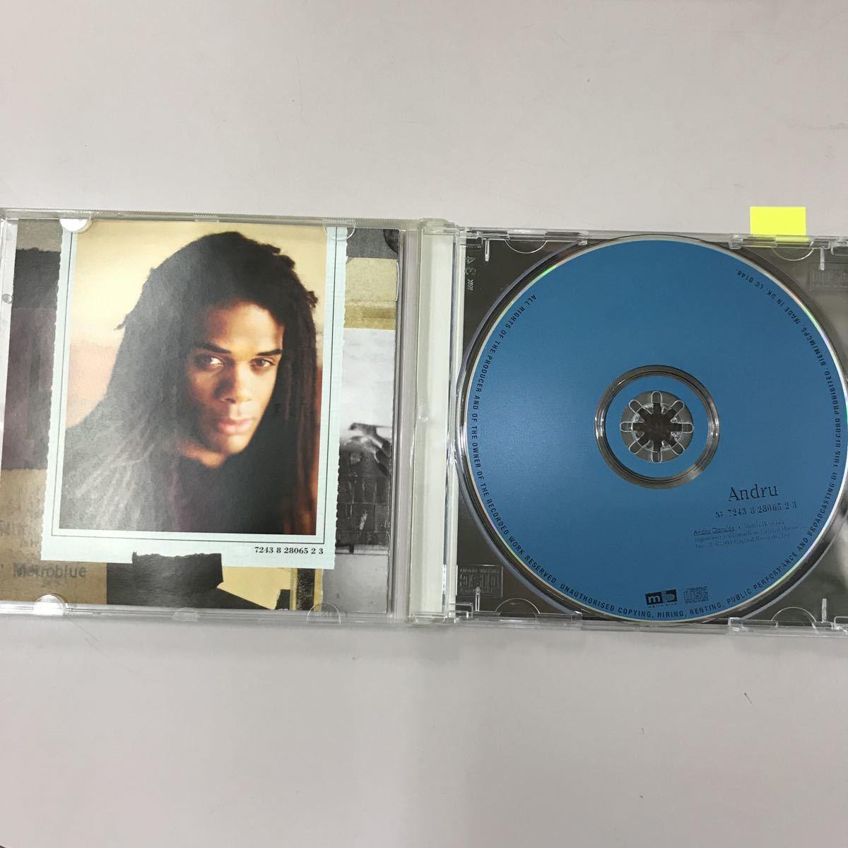 CD 中古☆【洋楽】ANDRU DONALDS