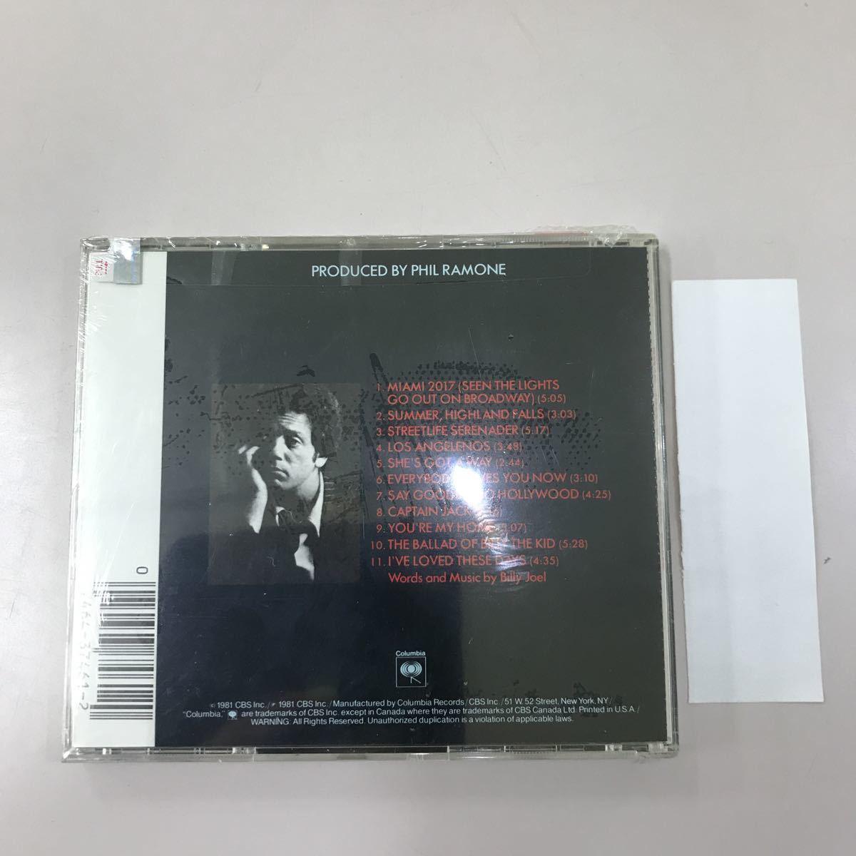 CD 輸入盤未開封【洋楽】長期保存品 BILLY JOEL