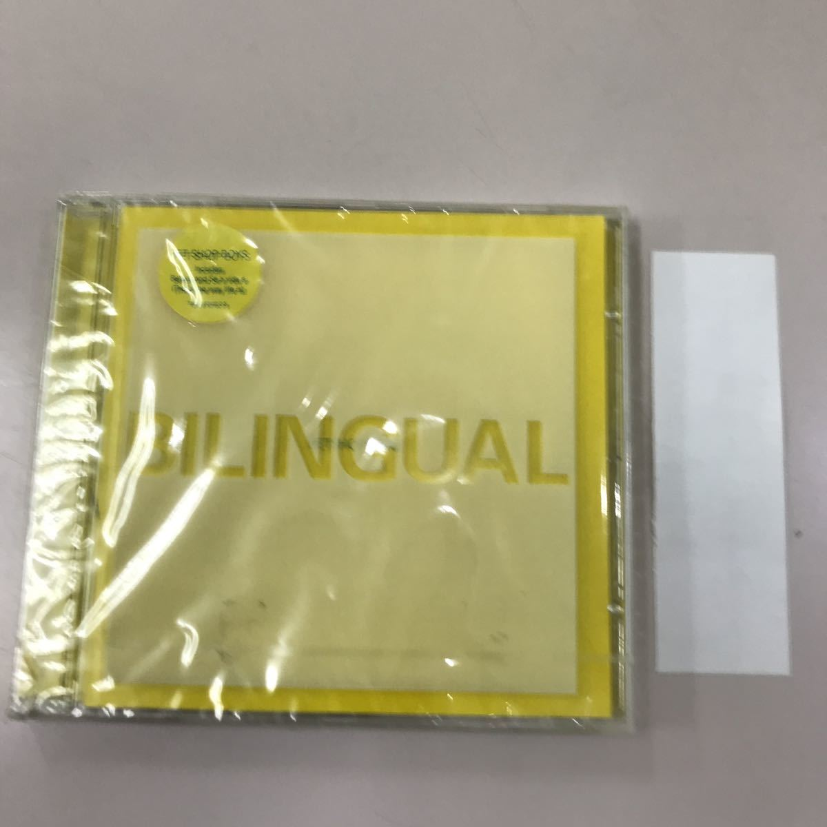 CD 輸入盤未開封【洋楽】長期保存品 BILNGUAL