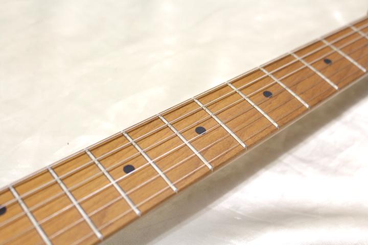 1本限り大特価 Bacchus(バッカス) / BTE-2-RSM/M PTL-SOB エレキギター ローステッドメイプルネック仕様_画像4