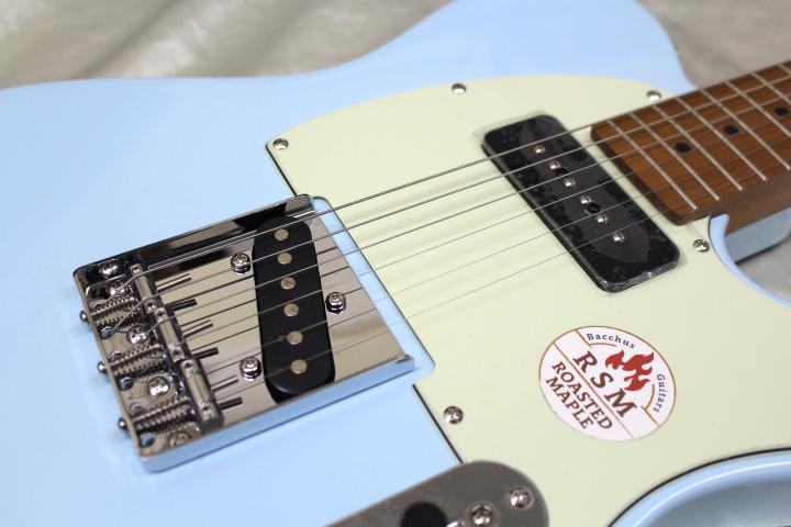 1本限り大特価 Bacchus(バッカス) / BTE-2-RSM/M PTL-SOB エレキギター ローステッドメイプルネック仕様_画像6