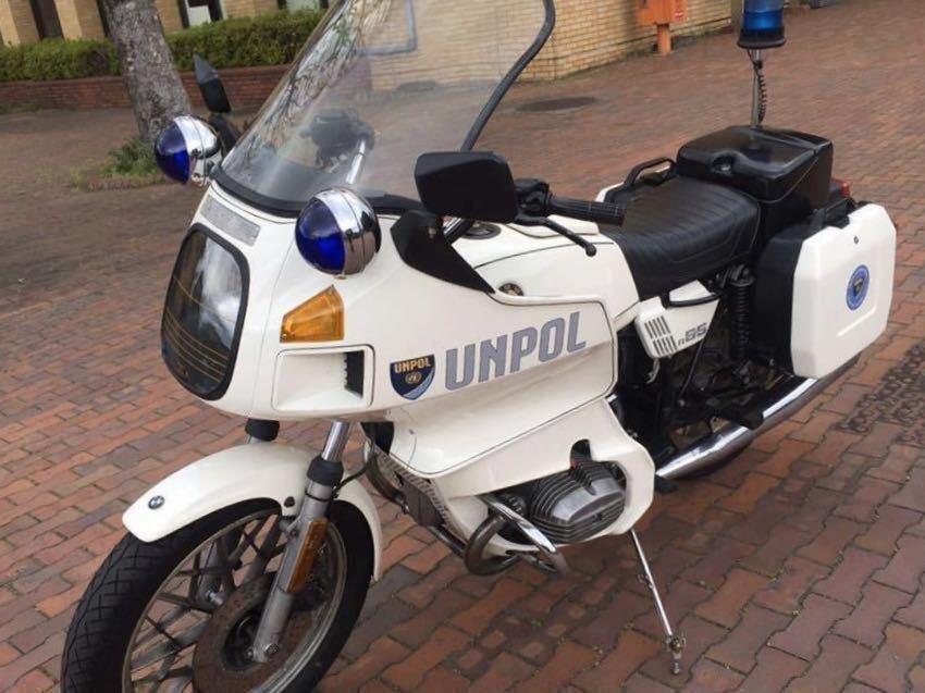 「BMW R65TIC ヨーロッパオリジナル警察車両          」の画像2