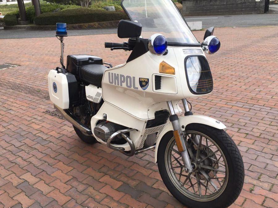 「BMW R65TIC ヨーロッパオリジナル警察車両          」の画像1
