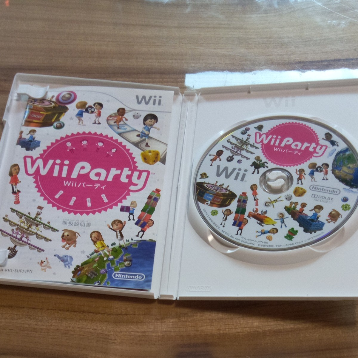 wiiソフト party  Wiiパーティ 中古
