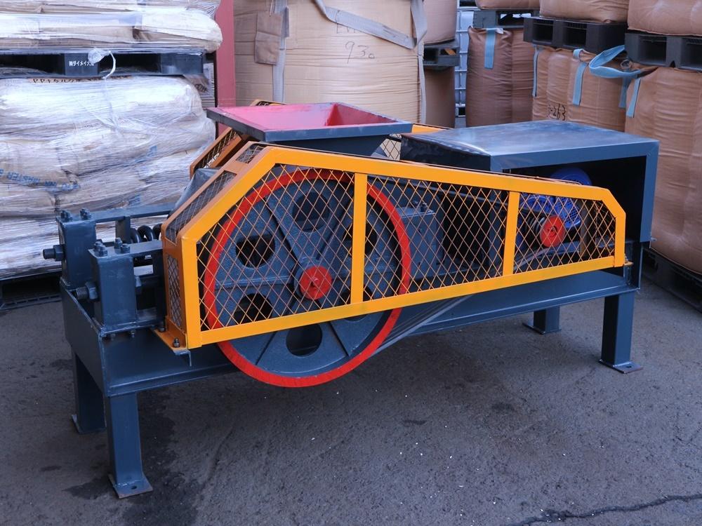 粉砕機 ロールクラッシャー 小割機 破砕機 がれき処理 250×400_画像1