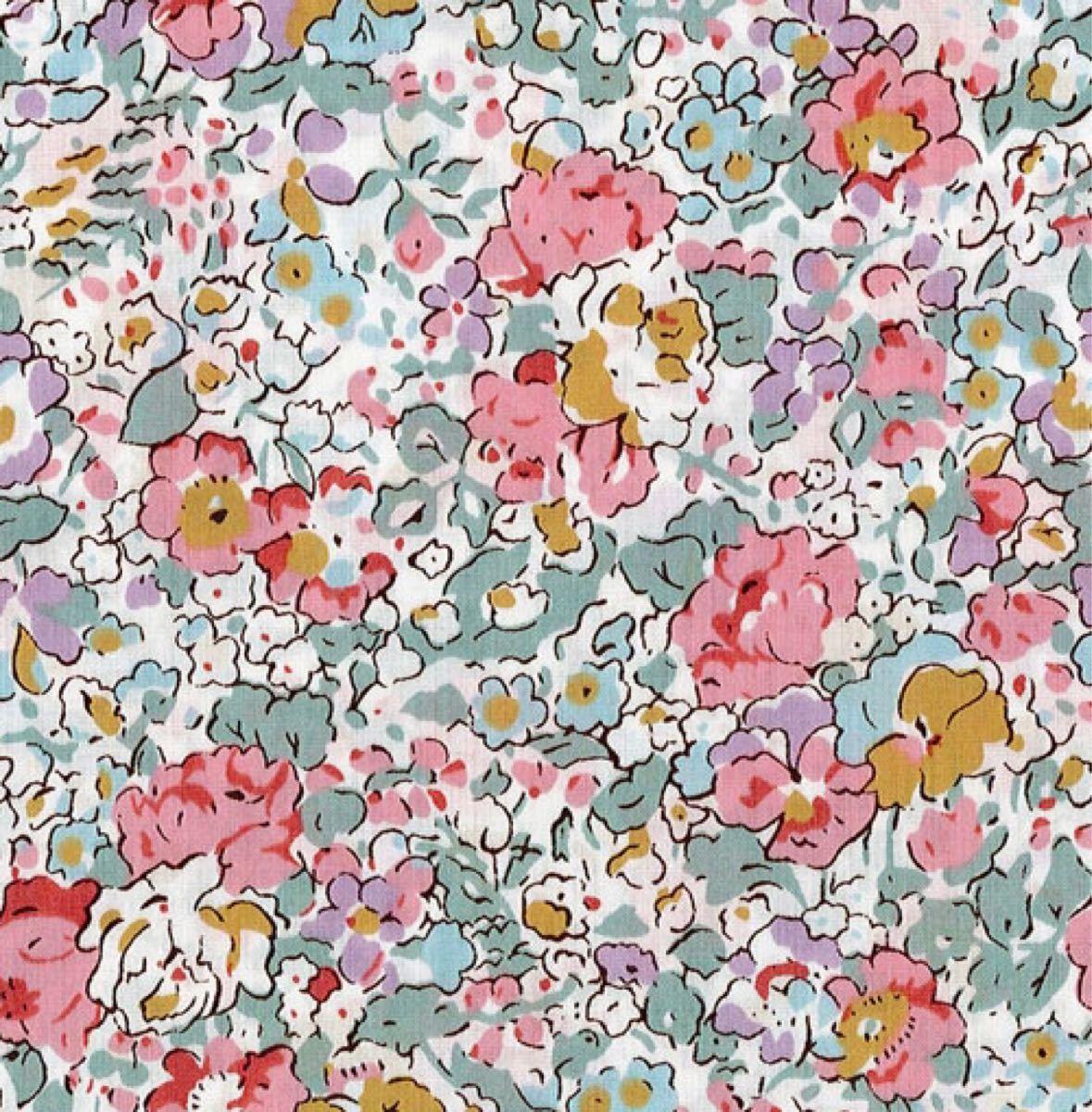 リバティ クレアオード ピンク 生地幅×200cm 国産タナローン