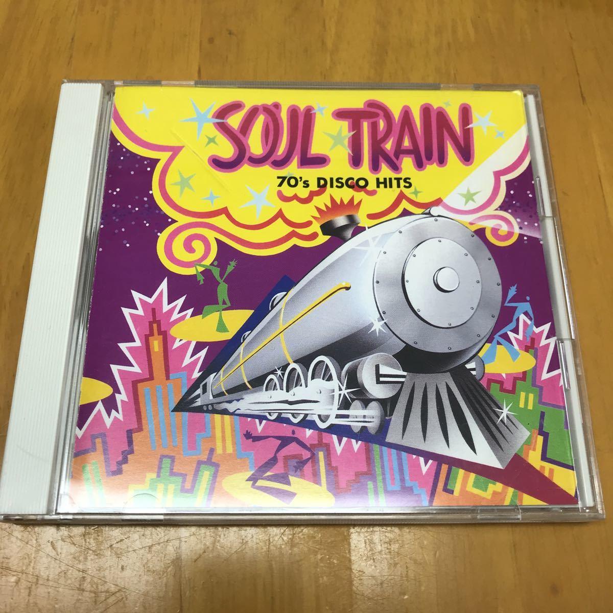 SOUL TRAIN ~70's DISCO HITS 国内盤CD ダンス ディスコ_画像1