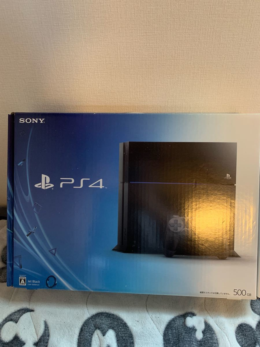 PlayStation4 PS4本体 ジェットブラック