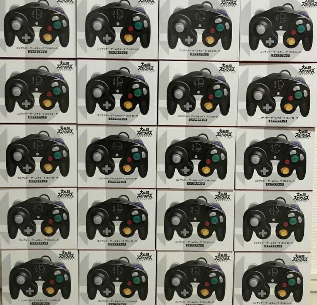 任天堂 Nintendo Switch ニンテンドー ゲームキューブコントローラー スマブラブラック 新品未開封 20個セット スイッチ ゲームキューブ