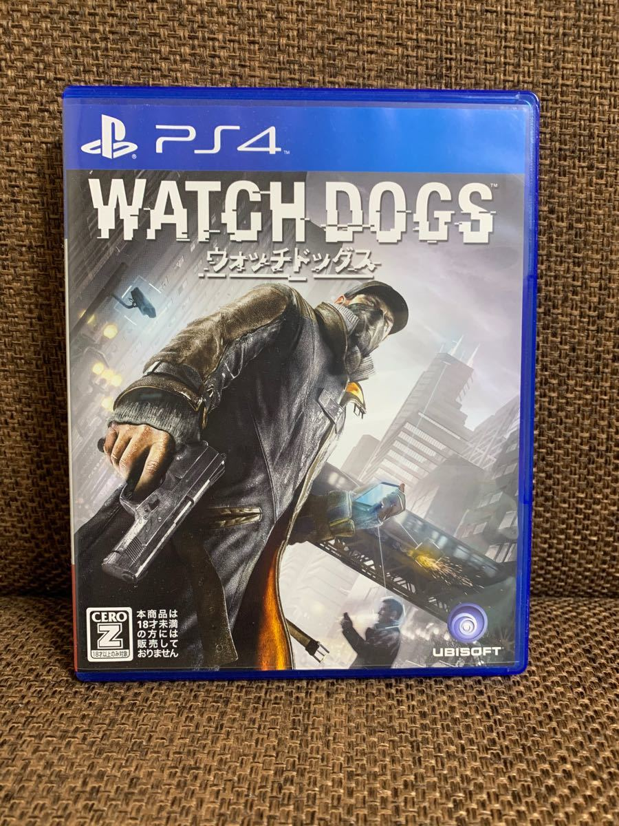 ウォッチドッグス WATCH DOGS PS4