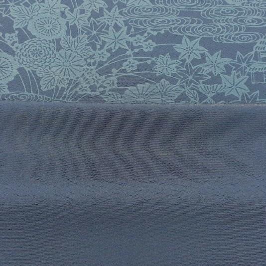 正絹 22603 シルク 藍染 小紋 2m はぎれ ハギレ リメイク