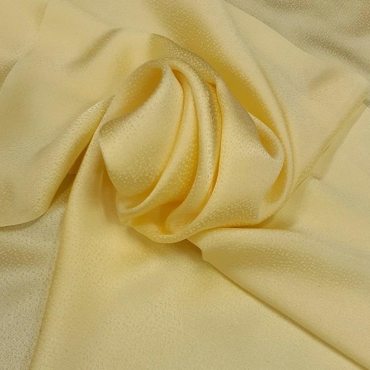 正絹 20301 黄色5枚 シルク 無地 薄手 はぎれ ハギレ リメイク