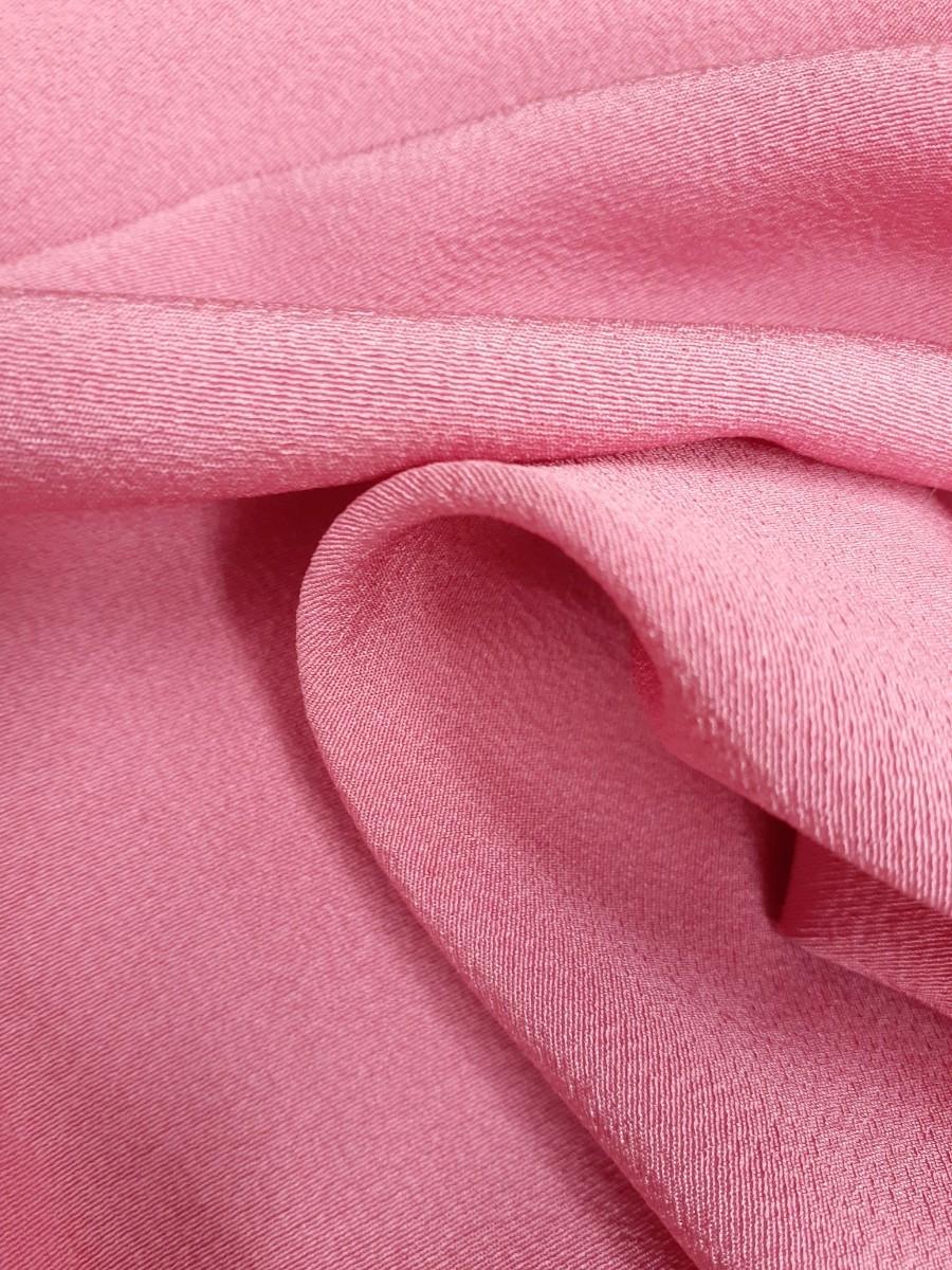 正絹 20304 シルク 5枚 ピンク 無地 はぎれ ハギレ リメイク