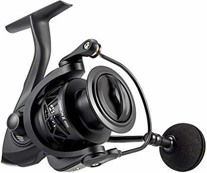 4000番. 4000 ピシファン(Piscifun)スピニングリール CarbonX 超軽量165g 淡水釣り海釣り ギア比5_画像1
