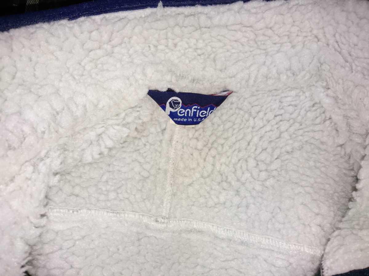 USA製 90's ペンフィールドpenfield ボア フリースジャケット M レトロパイル パタゴニアpatagonia