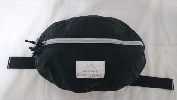 GREGORY グレゴリー パッカブル テールメイトSLT ヒップバッグ ウエストバッグ ブラック 美品