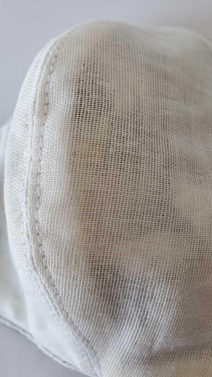 立体マスクカバー 和柄 風神雷神柄ネイビー(43) 通気性の良いダブルガーゼ裏地_画像10