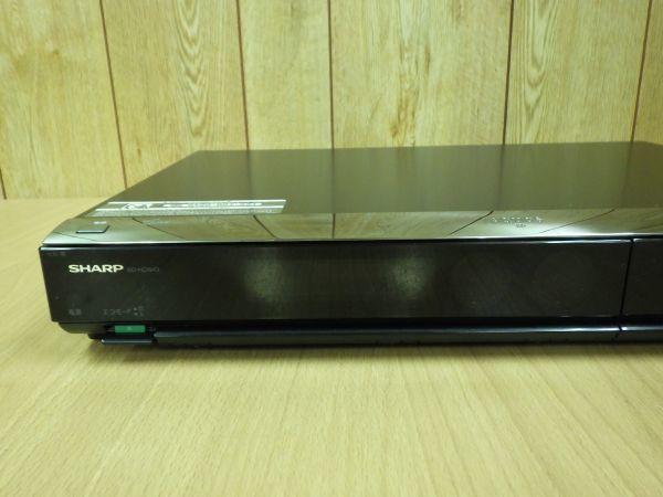 難あり■SHARP シャープ AQUOS アクオス 2番組同時録画 ブルーレイレコーダー HDD/320G B-CASカード/リモコン付 BD-HDW43■_画像6