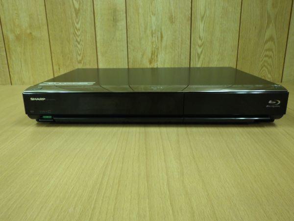 難あり■SHARP シャープ AQUOS アクオス 2番組同時録画 ブルーレイレコーダー HDD/320G B-CASカード/リモコン付 BD-HDW43■_画像5