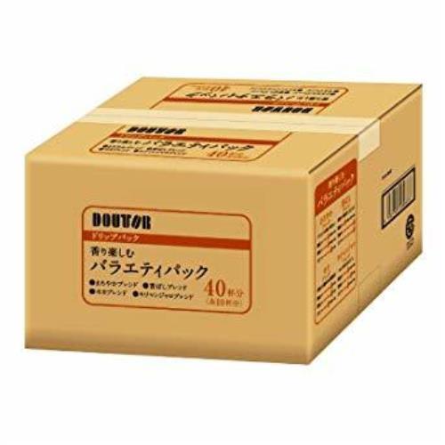 在庫限りi-1a-40杯分 ドトールコーヒー ドリップパック 香り楽しむバラエティアソート 40P_画像1