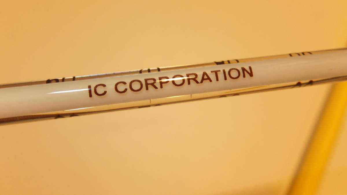★IC CORPORATION ★ Glass rod thermometer ガラス棒状温度計 ℃ -20度から+100度  USED IN JAPAN 長さ約30Cm Temperature Celsius_画像3