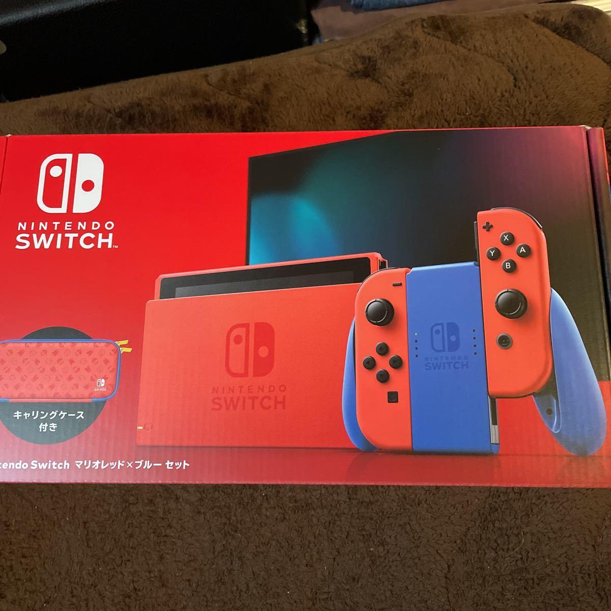 Nintendo Switch ニンテンドースイッチ本体 Nintendo 任天堂 マリオレッド