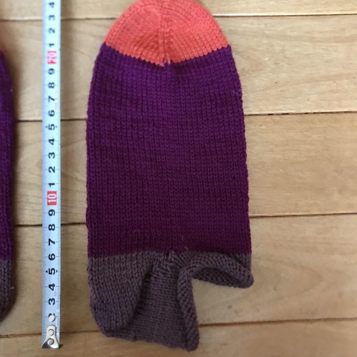 ハンドメイド 靴下 毛糸 手作り