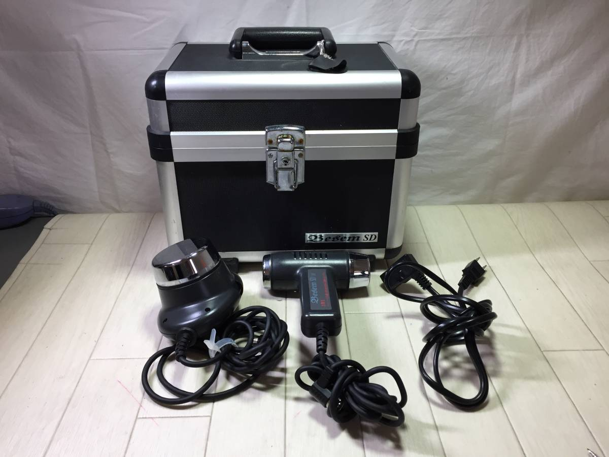 IT2144☆Besem SD べセムSD 家庭用超音波美容器 美顔器 フェイスケア ボディケア_画像1