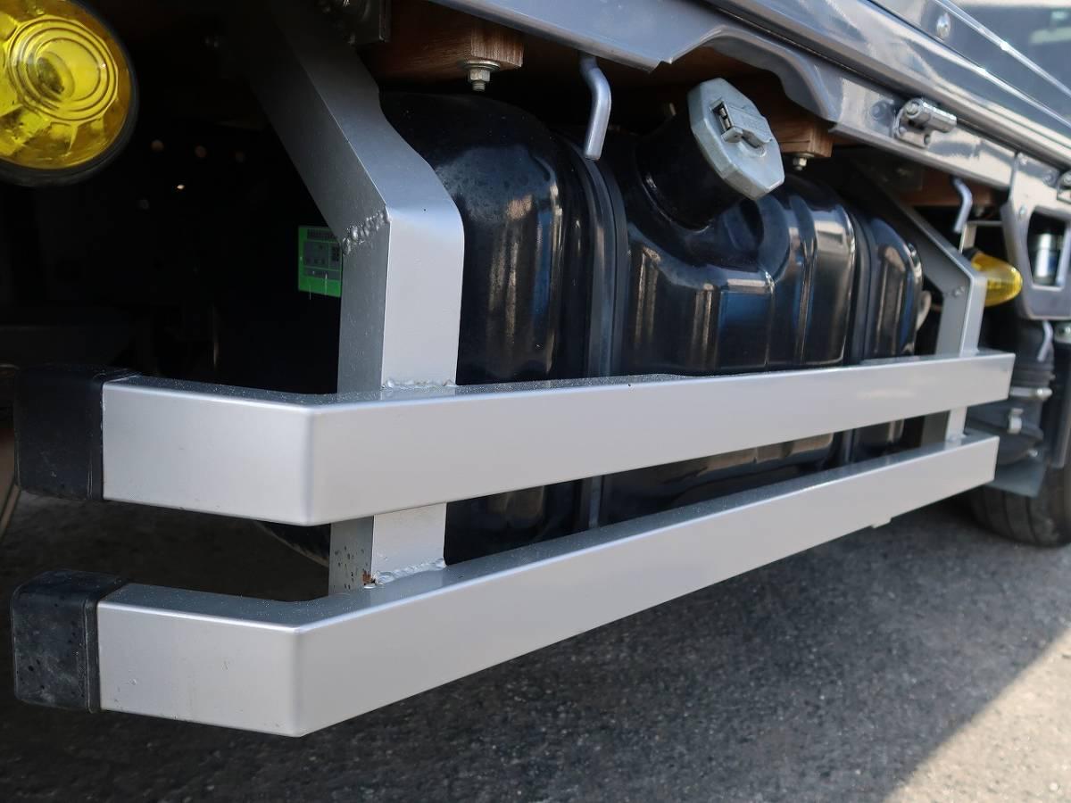 ※配送費無料※ H25 エルフ カスタムグレード 2t 2トン 標準 平ボディ 1万㎞ 極上車 簡易クレーン付き 10尺 無事故 横クレーン 豆ユニック_画像6