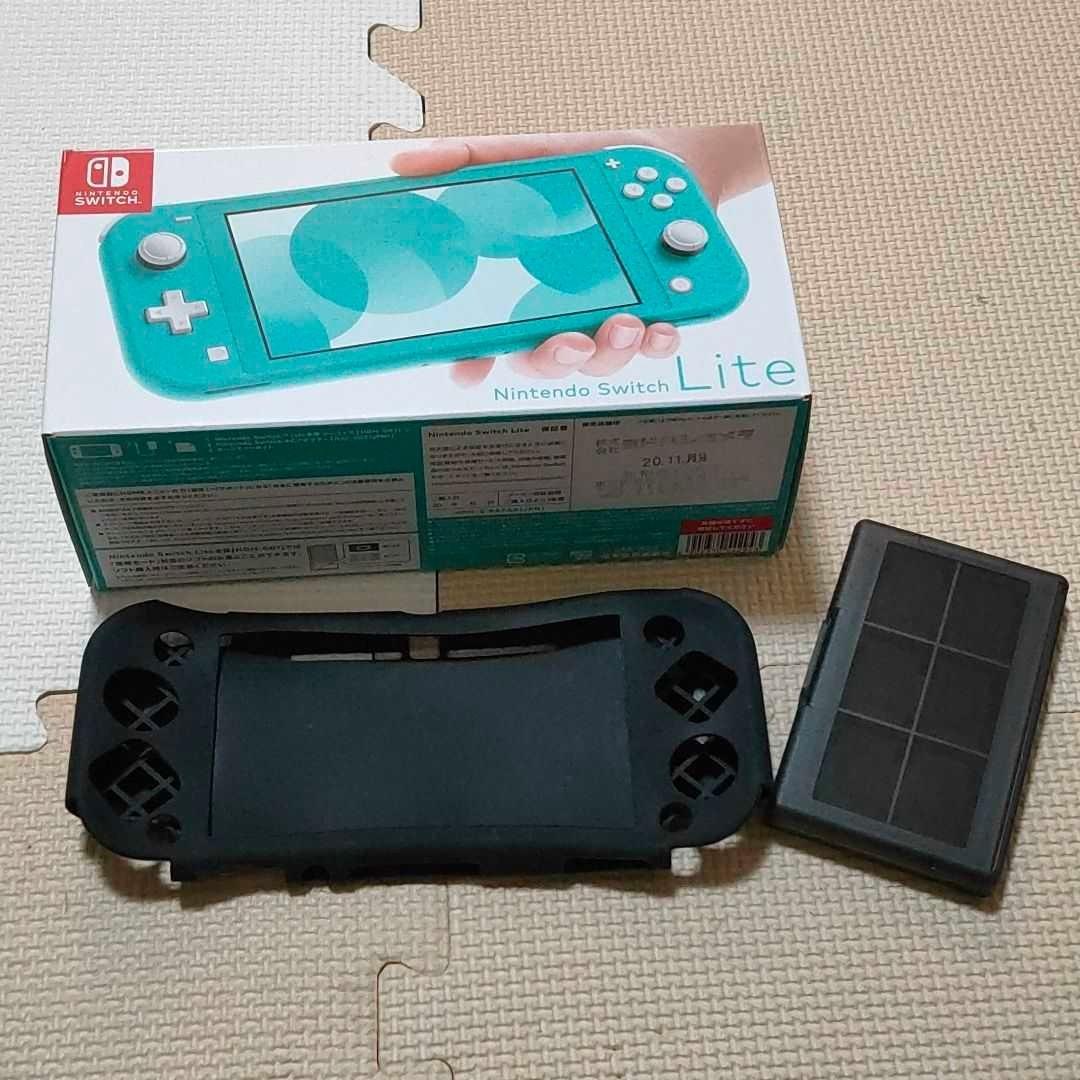 Nintendo Switch Lite スイッチライト ターコイズ ゲーム機 新品同様