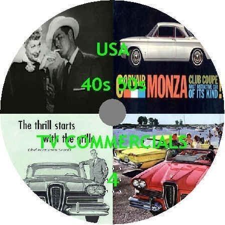 歴史的アメリカテレビコマーシャル動画映像集DVD4煙草 車 ガソリン ビンテージ ヴィンテージ 古 イラスト photoshop フェイスブック_画像1