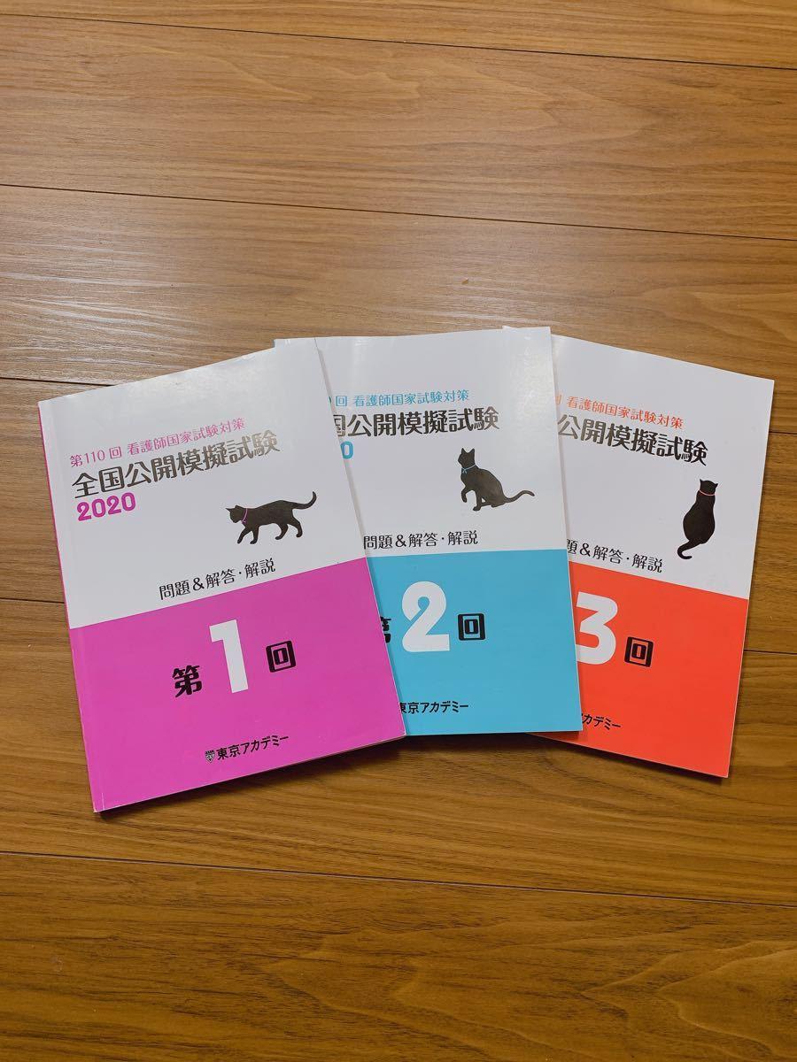 看護師国家試験 模擬試験 東京アカデミー 110回 東アカ  問題集 看護学生 国試 国家試験 参考書 過去問 問題集