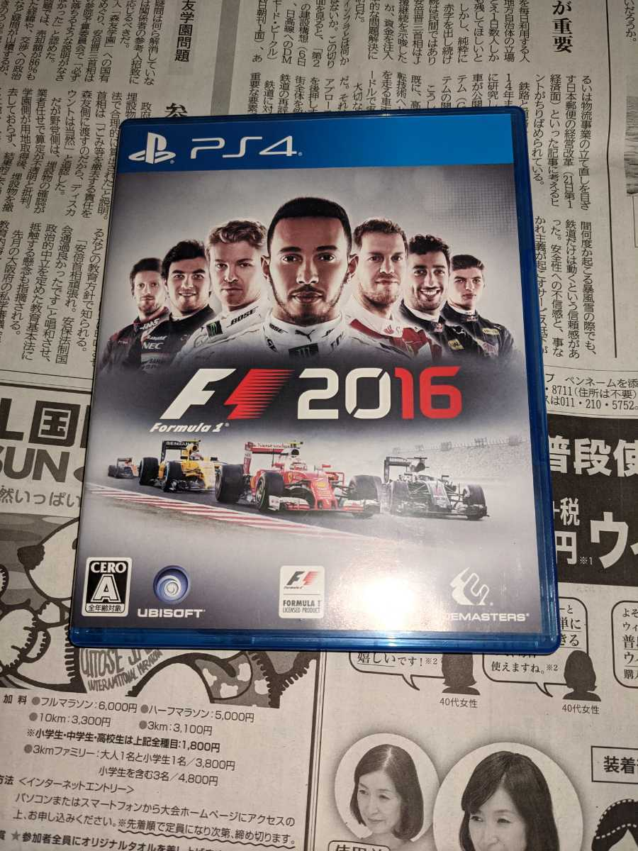 PS4ソフト F1 2016