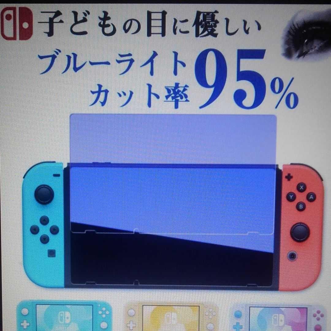 Nintendo Switch 任天堂スイッチガラスフィルム ブルーライト保護 その1